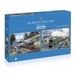 Gibsons-G5049 2 Puzzles - Up Main & Down Loop