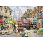 Puzzle  Gibsons-G6113 Le Marché