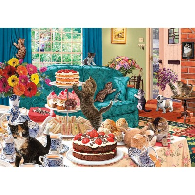 Puzzle Gibsons-G6219 Feline Frenzy