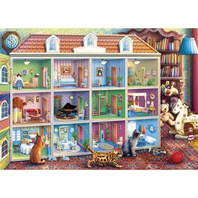 Puzzle Gibsons-G6270 Curious Kittens