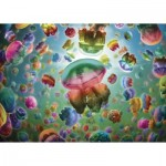 Puzzle  Gibsons-G6602 Jellyfish