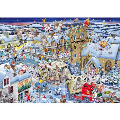 Puzzle Gibsons-G7013 Mike Jupp : J'aime Noël