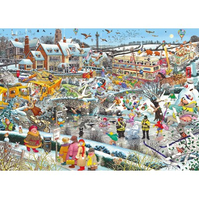 Puzzle Gibsons-G7056 J'aime l'Hiver