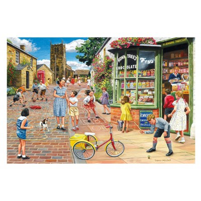 Puzzle Gibsons-G8011 Trevor Mitchell : Hopscotch Hill