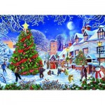 Puzzle   Steve Crisp - The Village Christmas Tree