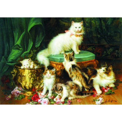 Puzzle Gold-Puzzle-60423 Jules Leroy: Play Time