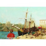 Puzzle  Gold-Puzzle-60751 Alberto Pasini : By the Golden Horn