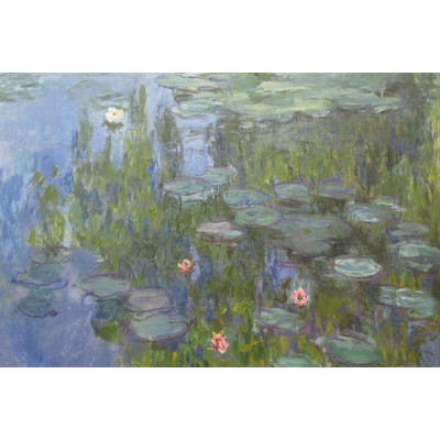Puzzle Grafika-Kids-00086 Claude Monet : Nymphéas, 1915
