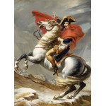 Puzzle  Grafika-Kids-00349 Jacques-Louis David: Bonaparte franchissant le Grand Saint-Bernard, 20 mai 1800