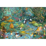 Puzzle  Grafika-Kids-00803 François Ruyer : La Jungle