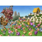 Puzzle  Grafika-Kids-00844 François Ruyer: Pirates