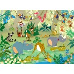 Puzzle  Grafika-Kids-00868 François Ruyer : Jungle