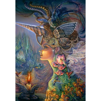 Puzzle Grafika-Kids-01592 Josephine Wall - My Lady Unicorn