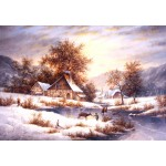 Puzzle  Grafika-Kids-01856 Dennis Lewan - Amber Sky Of Winter