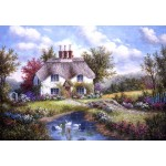 Puzzle  Grafika-Kids-01861 Dennis Lewan - Swan Creek Cottage