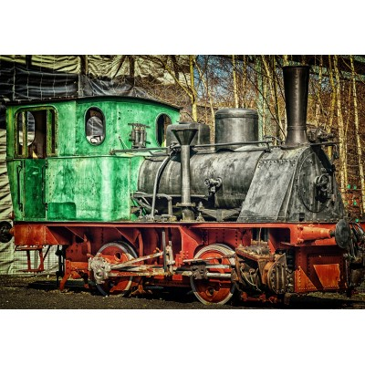 Puzzle Grafika-Kids-01960 Locomotive
