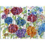 Puzzle  Grafika-Kids-02077 Sally Rich - Summer Hydrangeas