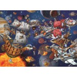 Puzzle  Grafika-Kids-02099 François Ruyer - Space Batttle