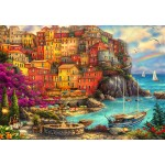 Puzzle   Chuck Pinson - A Beautiful Day at Cinque Terre