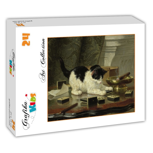 puzzle henriette ronner knip jeu de chaton grafika kids 00279 24 pi ces puzzles chats. Black Bedroom Furniture Sets. Home Design Ideas