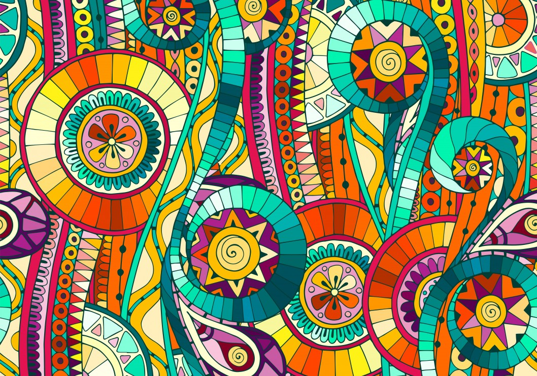 Puzzle art abstrait grafika 01579 1000 pi ces puzzles for Art and craft drawing and painting