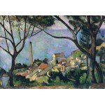 Puzzle  Grafika-00131 Paul Cézanne : Vue de l'Estaque