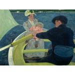 Puzzle  Grafika-00233 Mary Cassatt : The Boating Party, 1893-1894