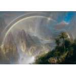 Puzzle  Grafika-00239 Frederic Edwin Church : Rainy Season in the Tropics, 1866