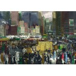 Puzzle  Grafika-00289 George Bellows : New York, 1911