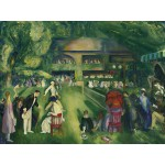 Puzzle  Grafika-00291 George Bellows : Tennis at Newport, 1920