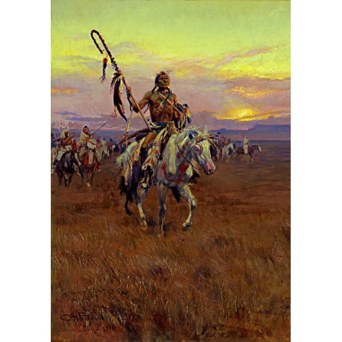 Charles Marion Russell : Medicine Man, 1916