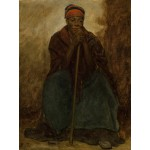 Puzzle  Grafika-00331 Jonathan Eastman Johnson : Dinah, Portrait of a Negress, 1867