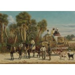Puzzle  Grafika-00379 William Aiken Walker : Cotton Wagon, 1883