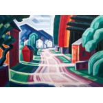 Puzzle  Grafika-00517 Oscar Bluemner : Form and Light, Motif in West New Jersey, 1914