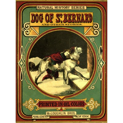 Puzzle Grafika-00559 McLoughlin Bros : Couverture de Dog of St. Bernard , 1870