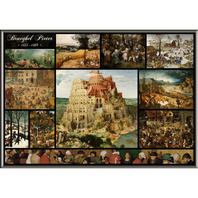 Puzzle Grafika-00834 Collage - Brueghel l'Ancien