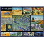 Puzzle  Grafika-00836 Collage - Vincent Van Gogh