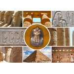 Puzzle  Grafika-01402 Collage - Egypte