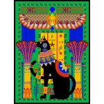 Puzzle  Grafika-01494 Chat Egyptien