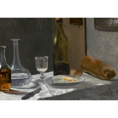 Puzzle Grafika-01540 Claude Monet - Nature Morte, 1863