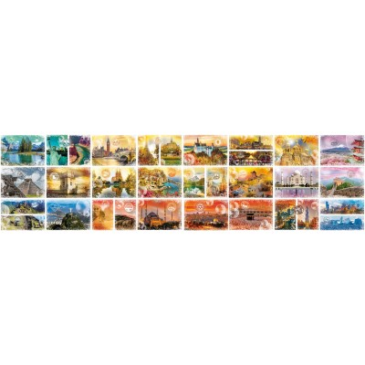 Grafika-02199 Plus Grand Puzzle du Monde - Travel around the World