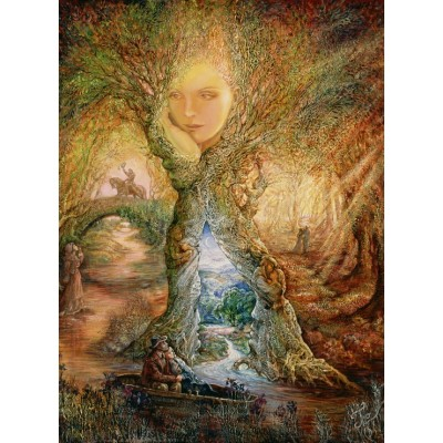 Puzzle Grafika-02375 Josephine Wall - Willow World