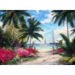 Puzzle  Grafika-02744 Chuck Pinson - Sea Breeze Trail