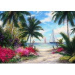 Puzzle  Grafika-02745 Chuck Pinson - Sea Breeze Trail