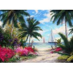Puzzle  Grafika-02746 Chuck Pinson - Sea Breeze Trail