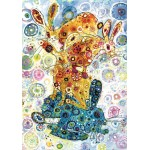 Puzzle  Grafika-02856 Sally Rich - Devon Hare Stack