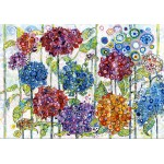 Puzzle  Grafika-02858 Sally Rich - Summer Hydrangeas