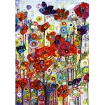 Puzzle  Grafika-02868 Sally Rich - Poppies