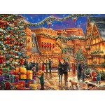 Puzzle   Chuck Pinson - Christmas at the Town Square
