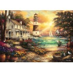 Puzzle   Chuck Pinson - Cottage by the Sea